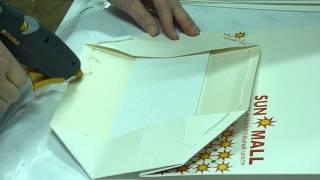 видео изготовление крафт-пакетов