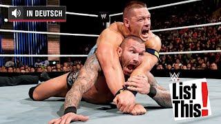 Die Ursprünge von 5 ikonischen Finishern -WWE List This! (DEUTSCH)