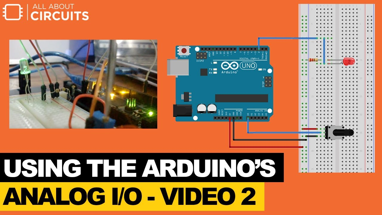 Learn to Use the Arduino's Analog I/O