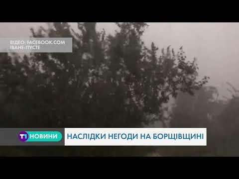 Сильні зливи та пориви вітру: на Тернопільщині через негоду оголошено II рівень небезпеки