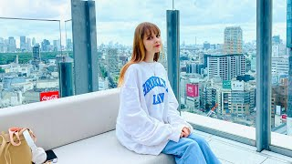 ロシア人モデルのファッション・メイク・ネイル 渋谷CÉ LA VI TOKYOで撮影