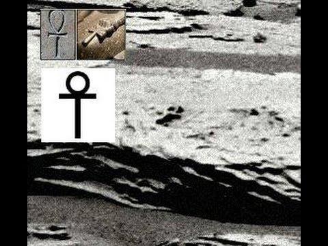 The Ankh cross on Mars