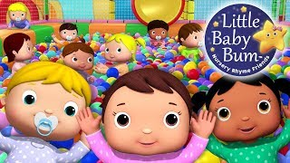 """ten little funny babies"" playground nursery rhymes and kids songs original lbb version"