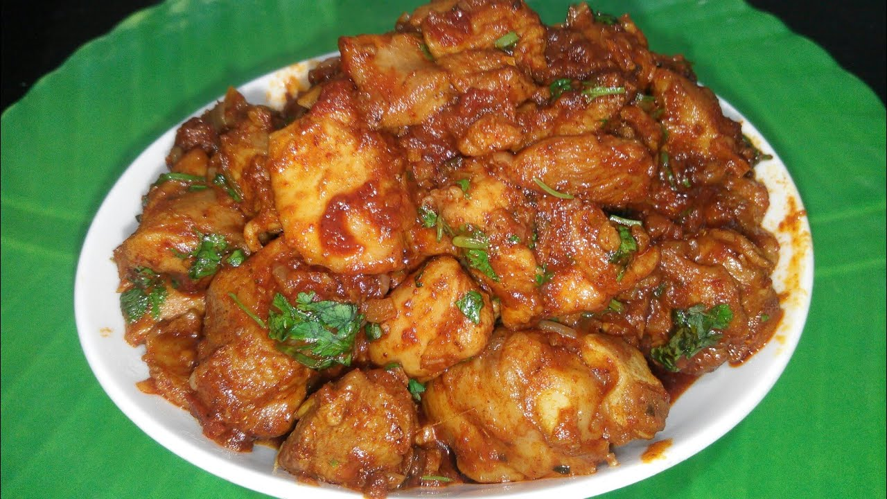 Simple spicy chicken non veg recipe in simple spicy chicken non veg recipe in marathi with asha maragaje forumfinder Images