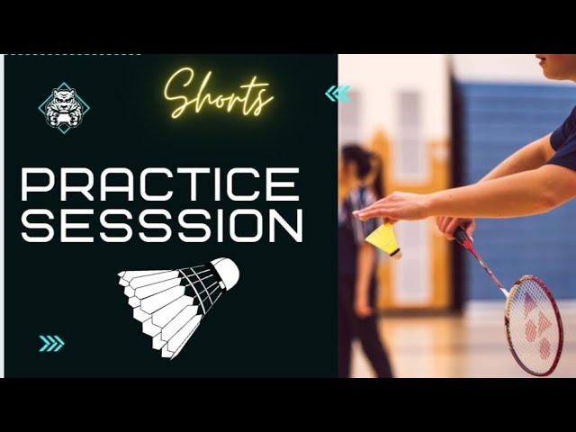 Classic Tricky Smash | Badminton Smash #shorts