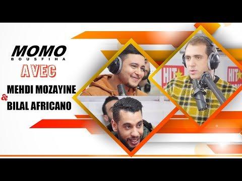Mehdi Mozayine & bilal africano avec Momo - مهدي موزايين مع مومو - الحلقة الكاملة