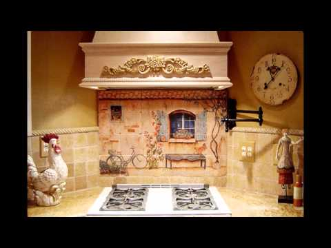 Elegant French country kitchen decorating ideas