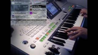 Tanze Samba mit mir • Yamaha Tyros 3 Demo