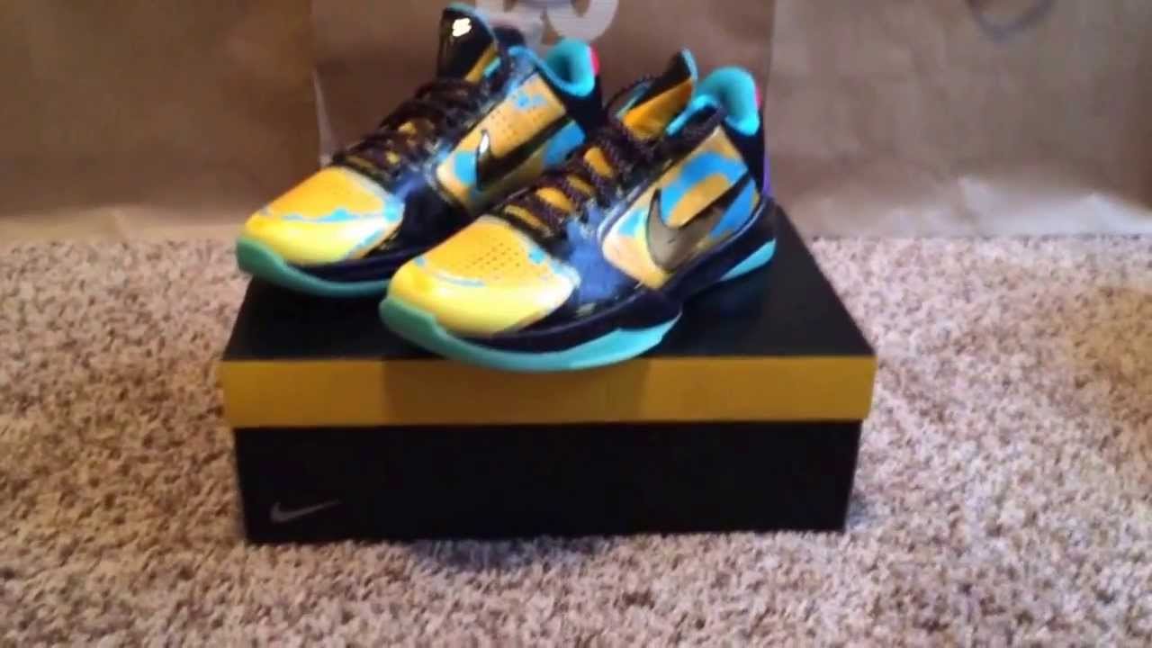 quality design 5ddef c5d2f Kobe Prelude 5 V (Unboxing)   (Review) (HD)