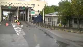 Bulgarische Grenze von Griechenland 3  Mit dem LKW