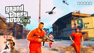 Gambar cover Grand Theft Auto V PRISON BREAK PC MOD - BJEZANJE IZ ZATVORA