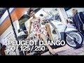 NOUVEAU 2014 | EICMA | PEUGEOT DJANGO 125 / 50 / 250 2014