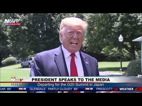 WITCH HUNT: President Trump BLASTS Mueller and Democrats