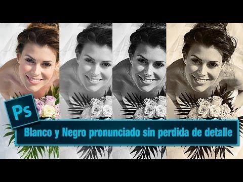 Tutorial Photoshop Efecto fotografico Blanco y Negro pronunciado via @ildefonsosegura