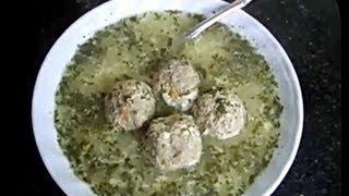 Армянский суп с тефтельками