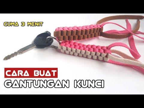 Cara membuat gantungan kunci dr tali sepatu 😮 | how to make a key chain - Ide Kreatif