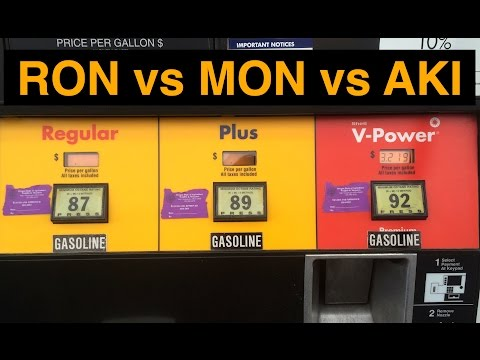 Does Europe Have Higher Octane Gas? RON vs MON vs AKI