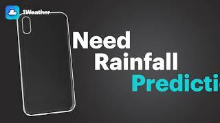 1Weather (precip, l) - Minutely Rain and Snow Forecasts, Precipitation Alerts & Radar layers screenshot 1