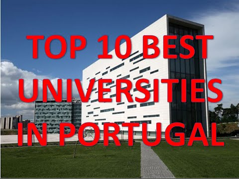 Top 10 Best Universities In Portugal/Top 10 Universidades De Portugal