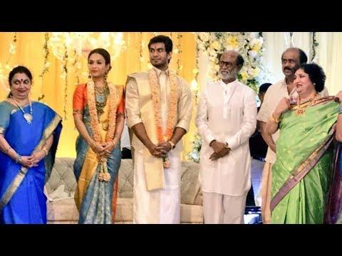Super Star Rajinikanth daughter Marriage Video || Rajinikanth On daughter Marriage