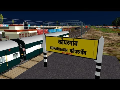Manmaad To Kopargaon Journey With Nagpur Pune Express || Play In Open Rail