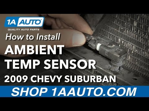 How to Install Ambient Temperature Sensor 07-14 Chevy Suburban 1500