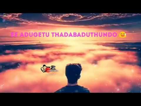 YE KADHA status video song with lyrics ||sK Editing zone||