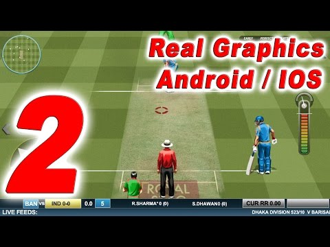 Real Cricket ™ 16 - Game Play | Android Games | IOS Games