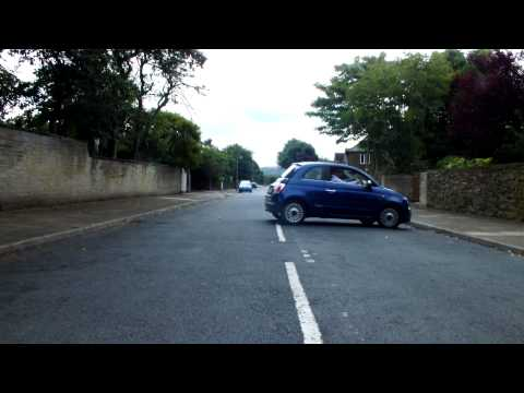 Three Point Turn - Turn In The Road Using Forward And Reverse Gears