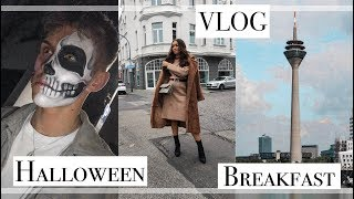 VLOG - Halloween, Uni Kram & Family Day⎢PaulinaMary