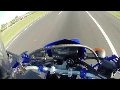 Yamaha XTZ 250 Lander - Top Speed (URUGUAY)