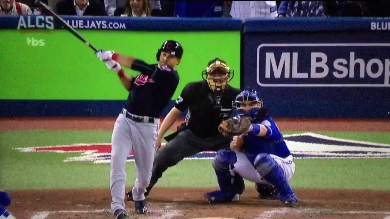 save off cd3c1 29ded Toronto Blue Jays vs Cleveland Indians ALCS Game 5 Highlights