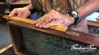 Restoration of a Model 52 Gerstner Chest