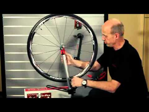 how to true a bmx wheel without a truing stand