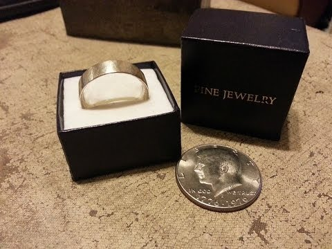 How to make a coin ring, Half dollar ring, Silver dollar ring. Valentine's rin