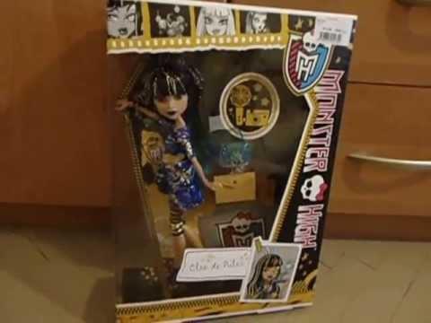 Распаковка куклы Монстр Хай, Клео де Нил.