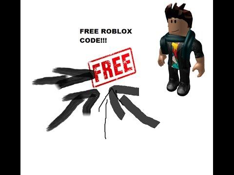 Free Roblox Code!!! (November 2016) - YouTube