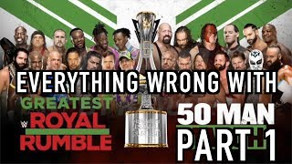 Episode #331: Everything Wrong With WWE Greatest Royal Rumble (Part 1)