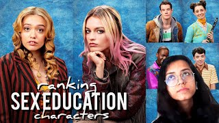 ranking sex education characters ft. their best moments (netflix)