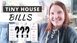 Tiny House Bills: My Cost Of Living