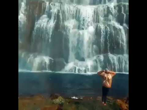Dynjandi waterfall in Iceland..Paradise