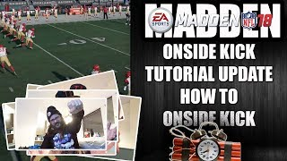 MADDEN 18 ONSIDE RECOVER TUTORIAL UPDATE