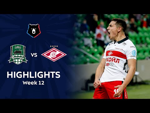 Krasnodar FK Spartak Moscow Goals And Highlights