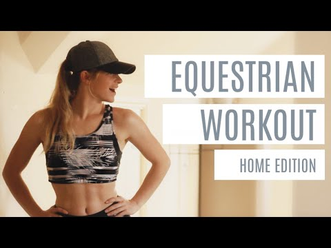 EQUESTRIAN WORKOUT | 15 MIN