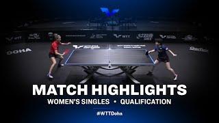 Satsuki Odo vs Olga Vorobeva | WTT Star Contender Doha 2021 | WS | QUAL Highlights