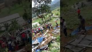 Detik detik tragedi kecelakaan beruntun di ciloto puncak