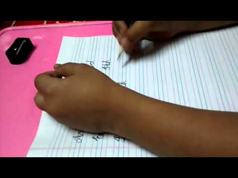 Cursive letters capital & small A to Z - YouTube