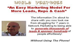 World Ventures - The Ultimate Success Formula Revealed