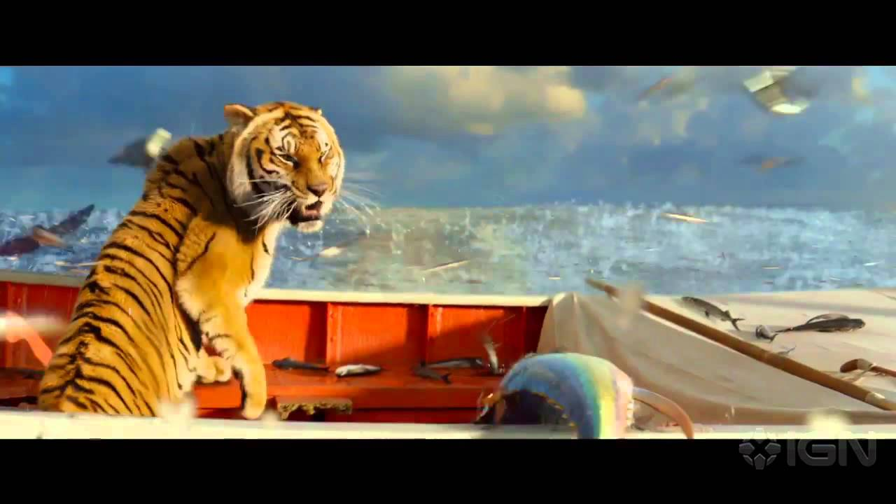 life of pi zebra on the boat images