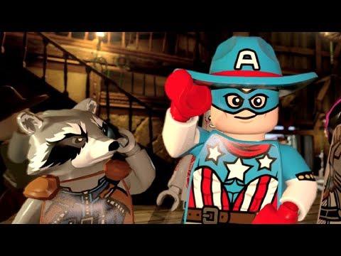 LEGO Marvel Super Heroes 2 Walkthrough Part 6 - High-Noon Saloon